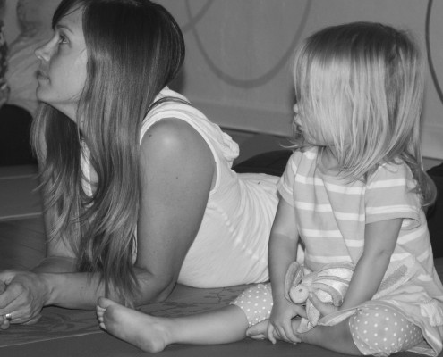 Louisville Yoga Junction Mommy and Me Yoga