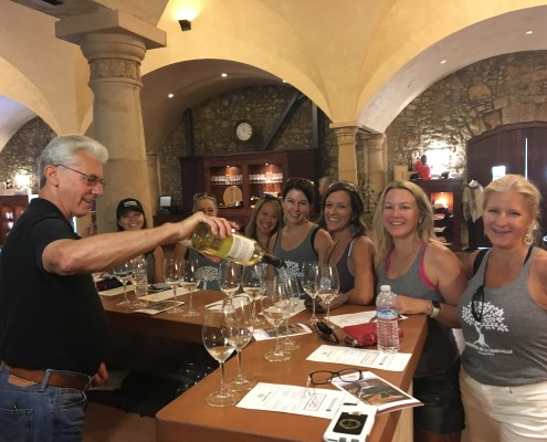Sonoma Valley Yoga Retreat Wine Tasting